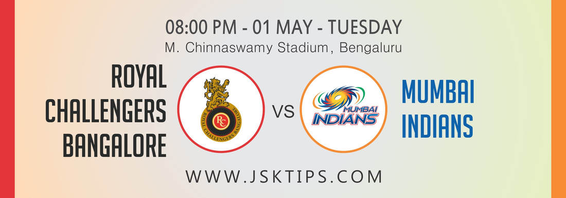 Royal Challengers Bangalore vs Mumbai Indians 31st Match