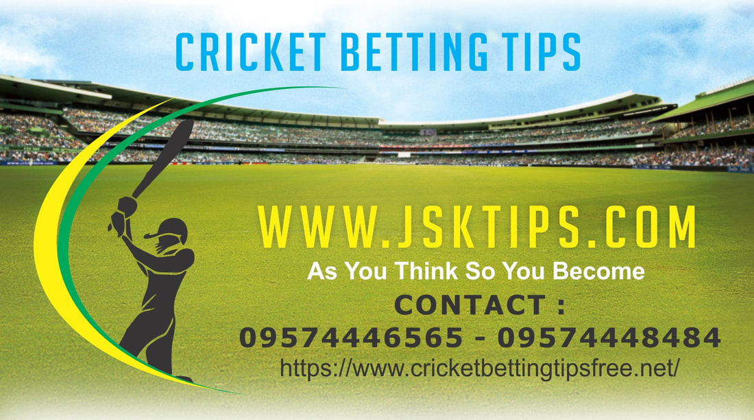 Cricket Betting Tips | Free Cricket Tips - Today Match