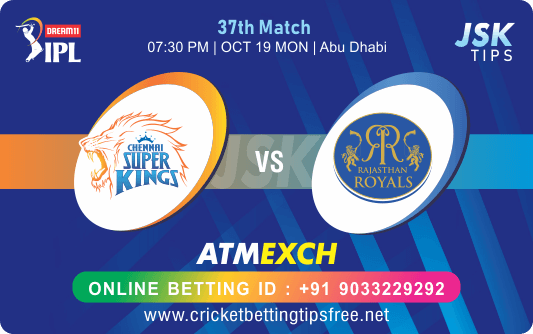 Cricket Betting Tips - Chennai vs Rajasthan 37th Match Prediction