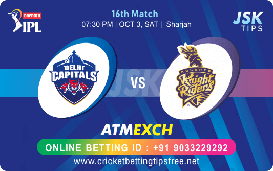 Cricket Betting Tips And Match Prediction For Delhi vs Kolkata 16th Match Tips With Online Betting Tips Cbtf Cricket-Free Cricket Tips-Match Tips-Jsk Tips