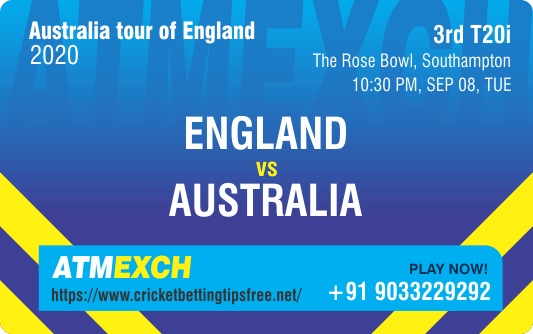 Cricket Betting Tips And Match Prediction For England vs Australia 3rd T20I  With Online Betting Tips Cbtf Cricket, Free Cricket Tips, Match Tips, Jsk Tips