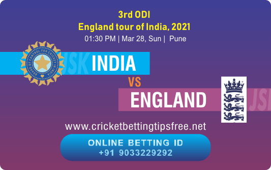 Cricket Betting Tips And Match Prediction For India vs England 3rd ODI Match Tips With Online Betting Tips Cbtf Cricket-Free Cricket Tips-Match Tips-Jsk Tips