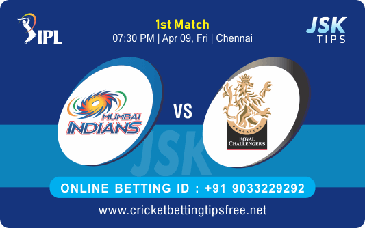 Cricket Betting Tips And Match Prediction For Mumbai vs Bangalore 1st Match Tips With Online Betting Tips Cbtf Cricket-Free Cricket Tips-Match Tips-Jsk Tips