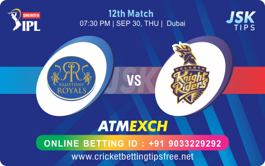 Cricket Betting Tips And Match Prediction For Rajasthan vs Kolkata 12th Match Tips With Online Betting Tips Cbtf Cricket-Free Cricket Tips-Match Tips-Jsk Tips